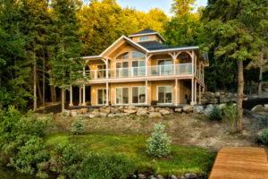 Beachwood Lakefront home design